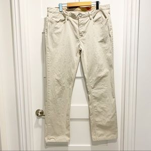 BURBERRY BRIT Slim Button-Fly Chinos 38R